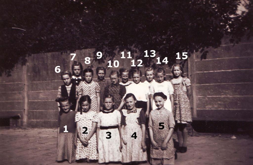 1950 klas 5 wanroij nummers