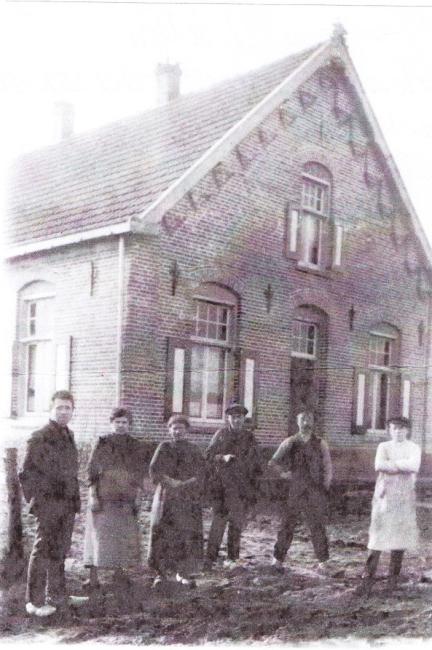 bert reijnen 7 april 1918 wanroij huis to de ster